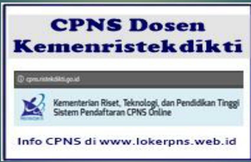 17+ Cpns 2021 formasi dosen info